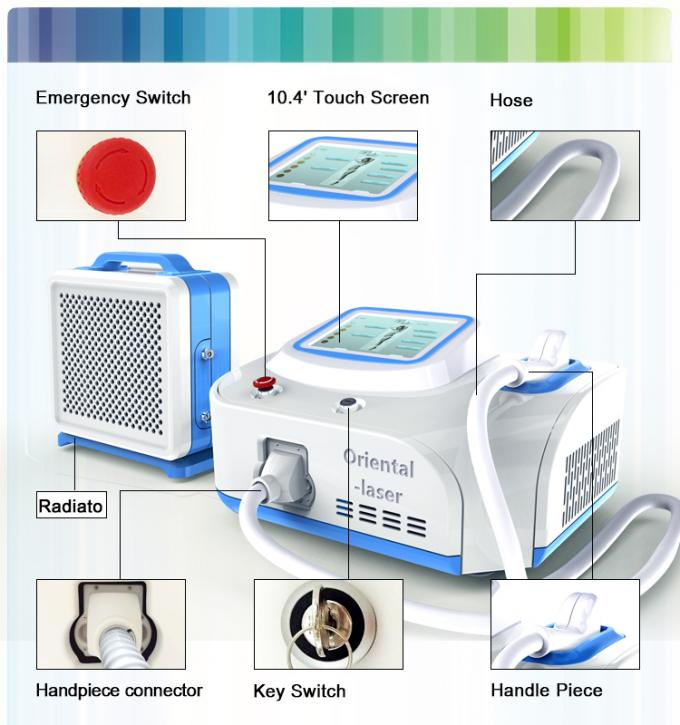 Promotion Body Pain Free Laser Hair Removal Machines For Salon