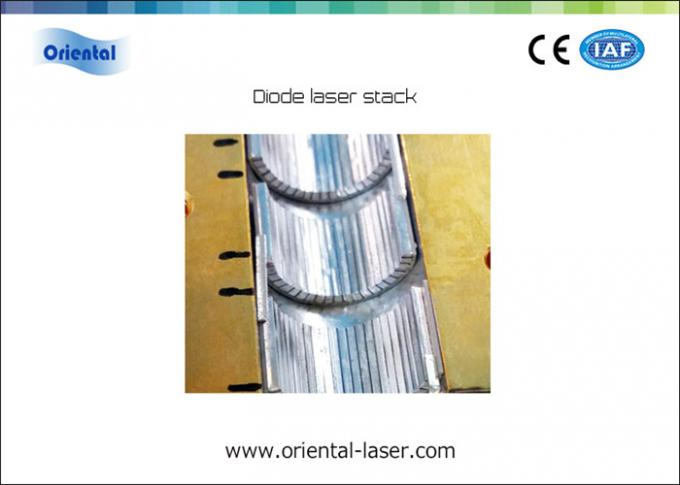 Professional Laser Diode Stack For Hair Removal Machine / Industrial Applications