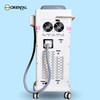 Macchina rosa di depilazione del laser a diodi di progettazione di caso con il compressore per raffreddamento fornitore