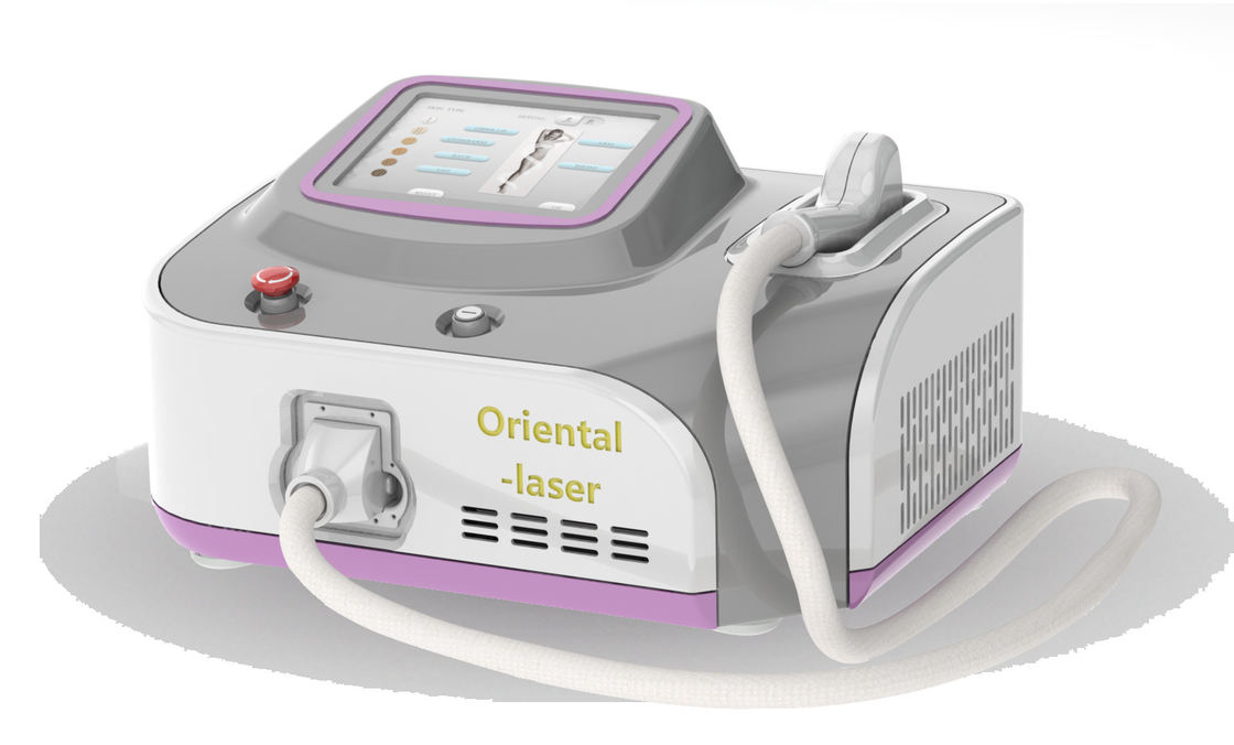 Permanent Portable Diode Laser Hair Removal Machine With Sapphire