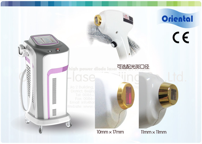 Shr Diode Laser Painless Women Facial Hair Removal Machine With