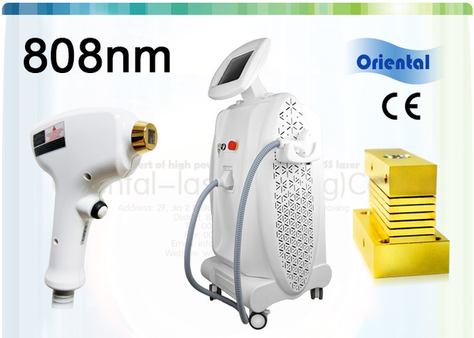 Micro Channel 808nm Diode Laser Hair Removal Machine With Laser Diode Stack