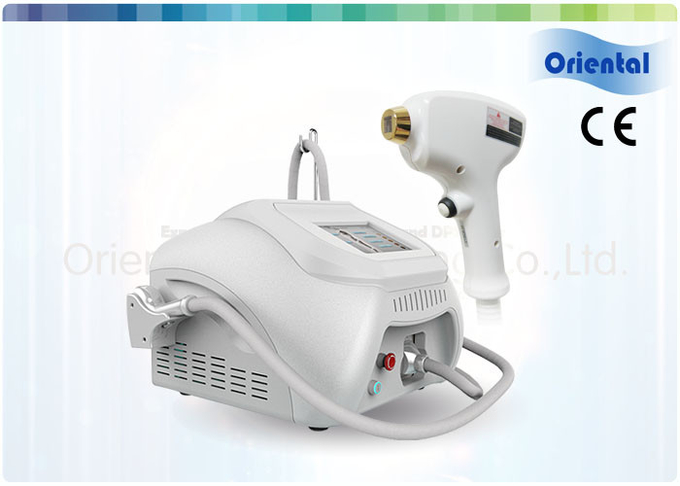 Portable White Design 808nm Diode Laser Hair Removal And Skin Care Machine